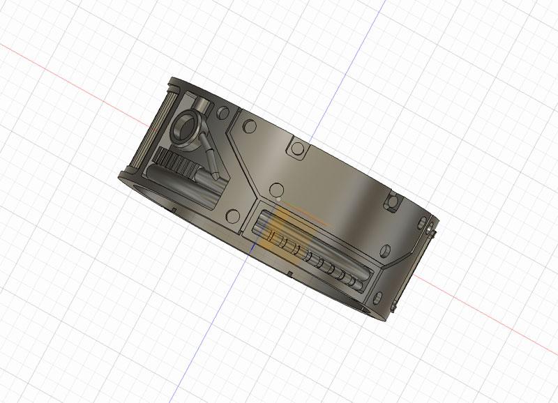 3dプリンタモデリング