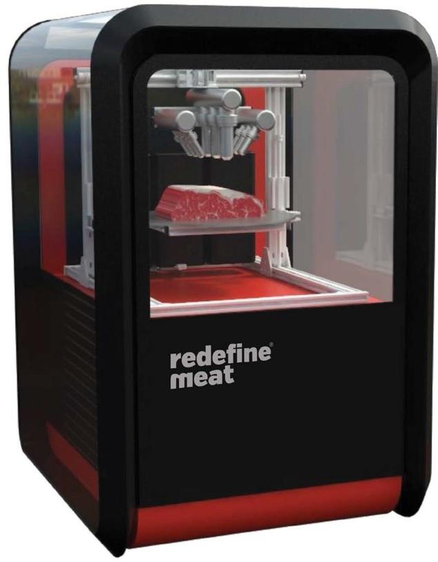 食肉産業の危機を3Dプリンターが救う? 「Redefine Meat」がプリントする精巧な代替肉